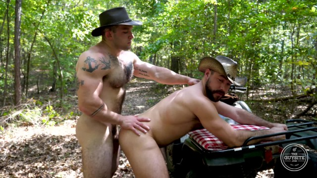 sexy naked cowboys having sex up the butt